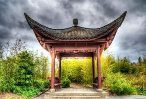Pine and Plum Pavilion (Song Mei Ting) by UrbanRural-Photo