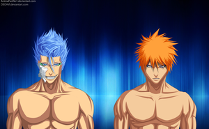 Ichigo And Grimmjow by AnimeFanNo1