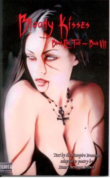 Blood Red Text Book VII - Bloody Kisses by stubru