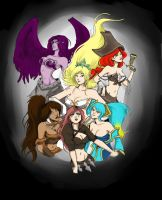 League of Boobies by uppiguppi