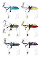 Custom Tack Designs 1 by BrindleTail