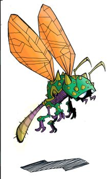 character designer, fly bug color proof by Doomsday90