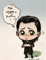 Crybaby Loki by Wolvtrune