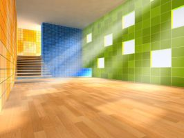 3d room by BrianCool1234