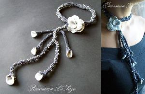 Wedding Necklace by PanoramaLeSage