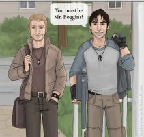 Fili and Kili - Modern AU by Tenshi-Inverse