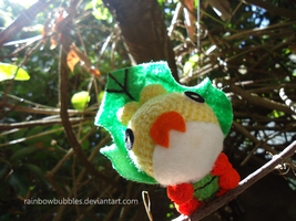 Art Trade: Sewaddle Amigurumi by Rainbowbubbles