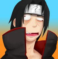 Derp Itachi by PsyFULL