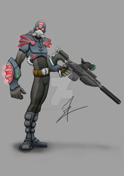 Future Soldier - Color by PeopleMcNuggets
