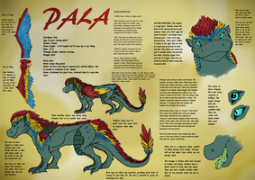 Pala the Dragon by SpringSkunk