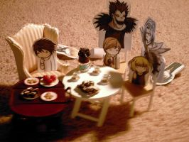 Death note:snack time by SNLFire