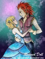Dance With Me - Axel and Namine by Rescued-Doll