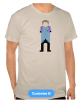 Pixel T shirt #1 by Ashcorp23