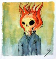 Ghost Rider by itemb