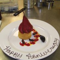 Poached Pear Plating by IMntHRimEVRYWHER