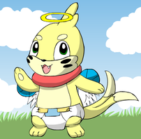 Eddy The Angelic Buizell by deadf1