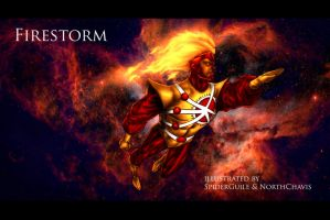 Firestorm - Northchavis colors by SpiderGuile