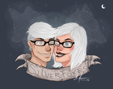 Silver Foxes by MercyLasVegas