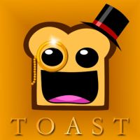 Monocle Toast by Rehlyihmah