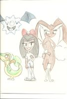 Me and My Pokemon by PinkuFootsie