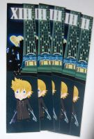 Kingdom hearts Roxas bookmark by knil-maloon