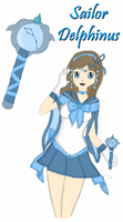 Sailor Delphinus by Strawberry-of-Love