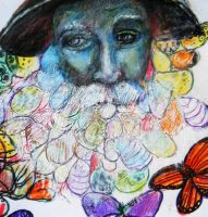 Walt Whitman beard by DVanDyk