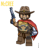 Lego McCree  by Avastindy