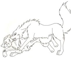 None leave the pack...ever by Eds-Tsubasa-girl