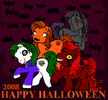 Pony Halloween 08 by Cheetana