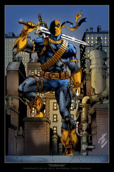 Deathstroke by BrianGraham