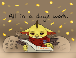 All in a Days Work by Saber-Panda