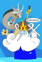 Discorderly - Ice King by peachiekeenie