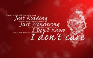 I don't Care by krishsajid