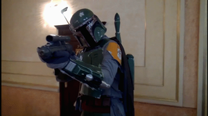 Me on EveryCon 2013 (Boba Fett homemade costume) by gnomKOLIN