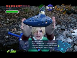 LoZ- You have found the Ocarina of Time by Rose-Curel