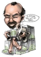 Peter Moore's Xbox360 Throne by pickassoreborn