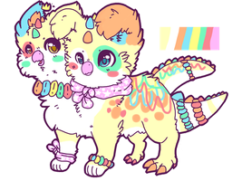 Candy Neacklace Dino bird! by Flipgang