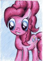 Pinkie pie drawing by JellieLucy
