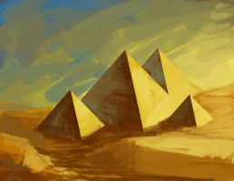 Egypt Speedpaint by NRWalker