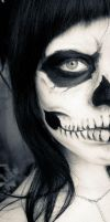 Skull Make-Up 1 by Meariku