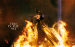 Fire in the Sky | Bill Kaulitz wallpaper by DarknessEndless