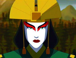 Avatar Kyoshi by messengerpigeon