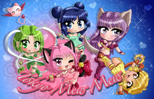 Tokyo Mew Mew Poster by Meip