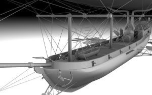 Steampunk Airship 02 by zombie2012
