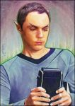 Spock-Sheldon by DavidDeb