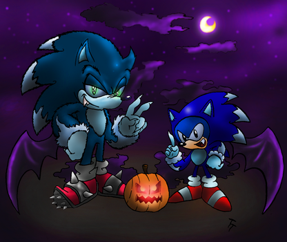 Double the Spooky by SonicKnight007