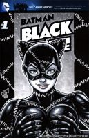 Catwoman BR bust cover by gb2k