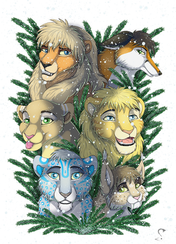 Snow year by SoloLioness