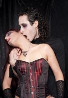 vampire kiss2-ladysivali-stock by ladysivali-stock